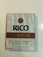 Rico Reserve klarinetin lehti