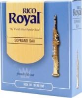 Rico Royal 2 sopraanosaksofonin lehtilaatikko ( 10 lehteä)