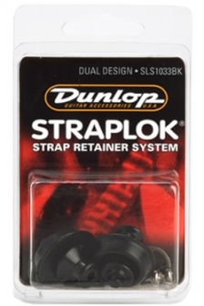 Dunlop SLS1033BK Dual musta hihnalukko, pari