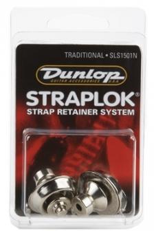 Dunlop SLS1501N Traditional niklattu hihnalukko, pari