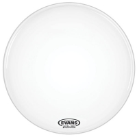 "Evans 24"" EQ3-NP Smooth White Resonant"