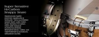 "Tama Starphonic PST146 teräs virvelirumpu 6"" x 14"""