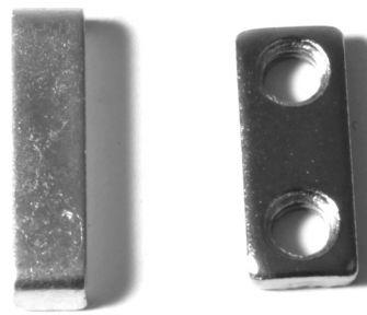 Tama tuplapedaalin välitangon painelevy ja kierteet.