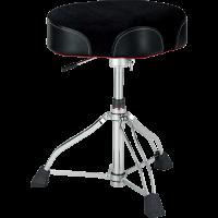 TAMA HT750BC - kangaspäällysteinen, satulamallinen rumputuoli hydraulisella korkeudensäädöllä.
