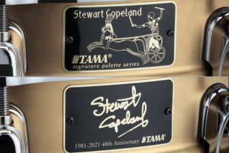 """Tama SC145 Steward Copeland 5""""x14"""" Anniversary virveli"""