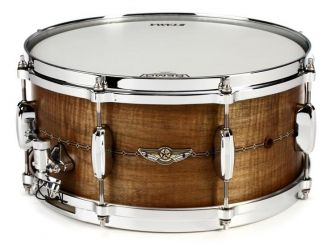 """Tama STAR 6,5"""" x 14"""" Curly Maple Solid Shell - OBC"""