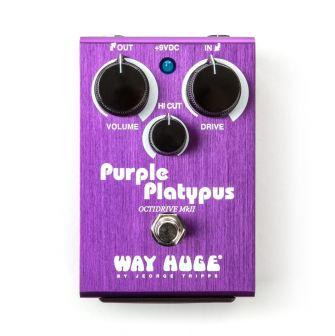 Way Huge Purple Platypus Octidrive -pedaalin etulevy.