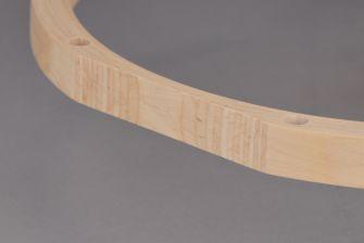 """Tama 14"""" virvelin puinen alavanne 8 reikää"""